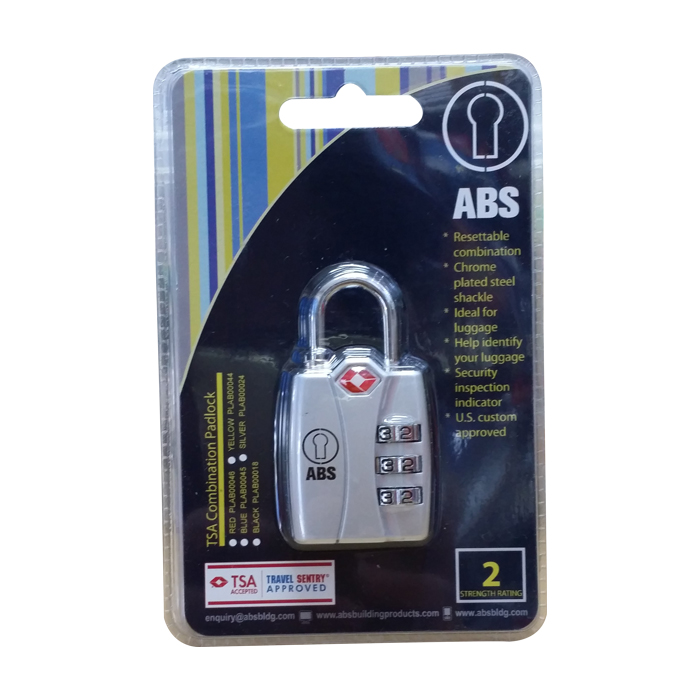 PL-ABS0018 Resettable Pad Lock